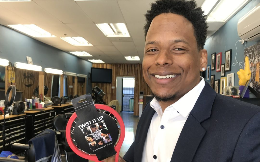 Noel Durity created the unique comb for black hair